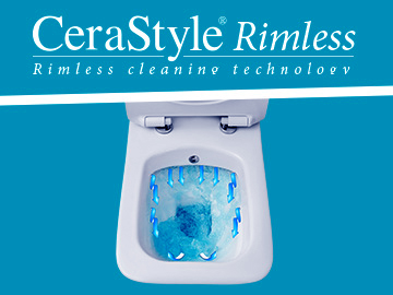 CeraStyle Rimless WC